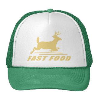 Ciervos de los alimentos de preparación rápida gorro de camionero