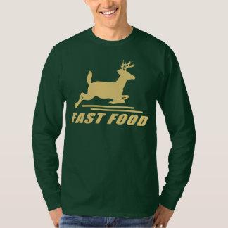 Ciervos de los alimentos de preparación rápida polera
