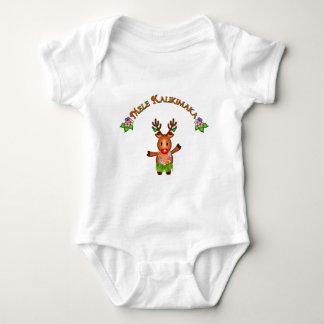 Ciervos de Mele Kalikimaka Body Para Bebé