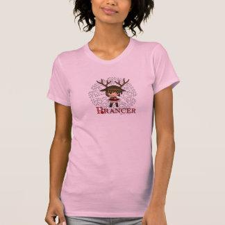Ciervos de Prancer Chibi Camisas