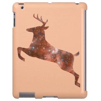 ciervos del alcohol del caso del iPad 2/3/4 Funda Para iPad