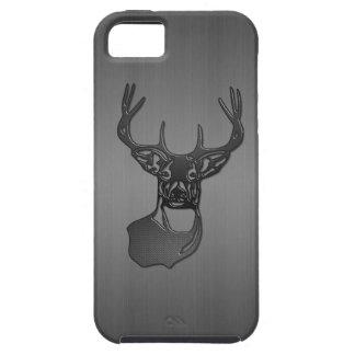 Ciervos del dólar de la cola blanca - metal de arm iPhone 5 fundas
