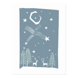 Ciervos del navidad postales