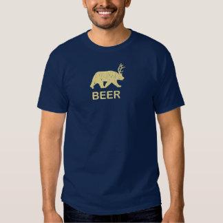 Ciervos del oso de la cerveza poleras