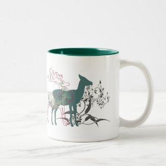 ciervos del otoño tazas de café
