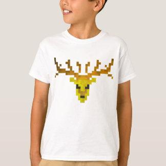 Ciervos del pixel playera