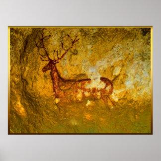 Ciervos en Chimiachas Póster