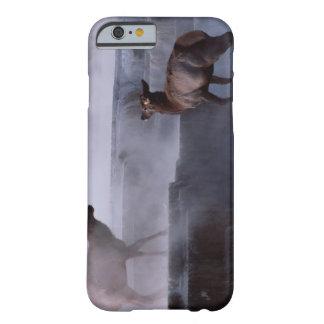 Ciervos en la formación de roca funda de iPhone 6 barely there