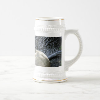 Ciervos en naturaleza taza de café
