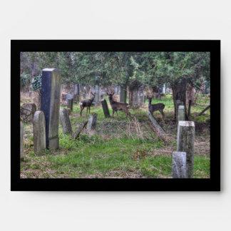 Ciervos en Zentralfriedhof Sobre