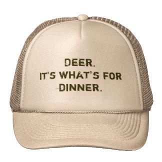 Ciervos. Es cuál está para la cena Gorra