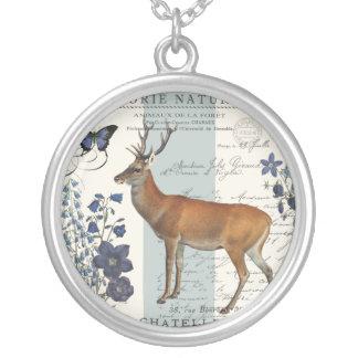 ciervos modernos del arbolado del vintage pendientes personalizados