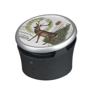 ciervos modernos del invierno del arbolado del altavoz bluetooth