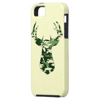 Ciervos que cazan el dólar de Camo iPhone 5 Cárcasa