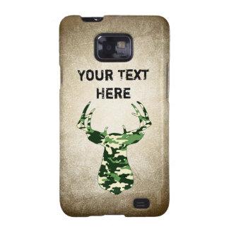 Ciervos que cazan el dólar de Camo Samsung Galaxy S2 Carcasa