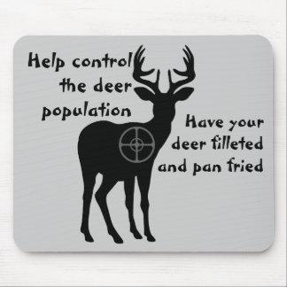 Ciervos que cazan Mousepad Alfombrillas De Raton