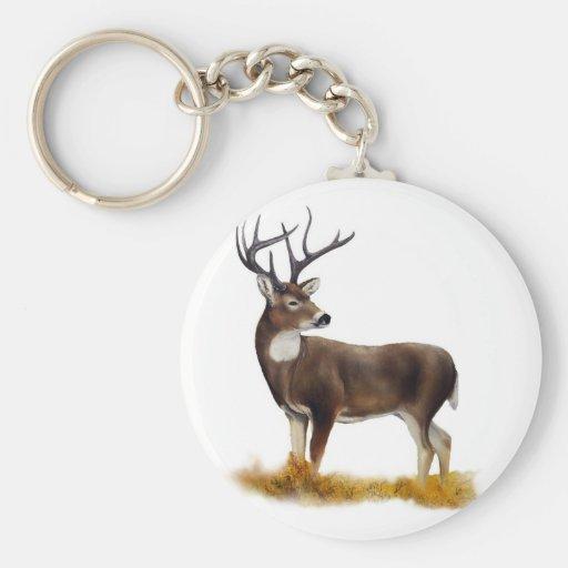 Ciervos que se colocan solamente en productos adap llaveros personalizados