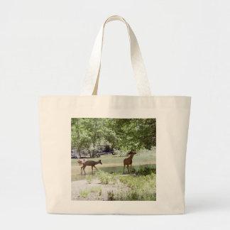 Ciervos salvajes bolsas de mano