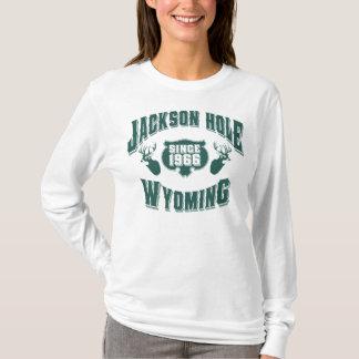 Ciervos verdes de Jackson Hole Playera
