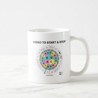 Cifrado para comenzar y para parar (rueda del codó taza