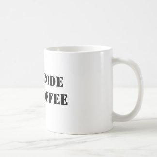 Cifrará para el café tazas