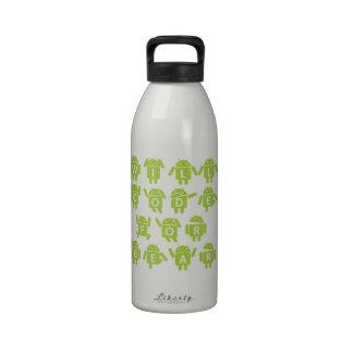 Cifrará para el engranaje (el analista de programa botellas de agua reutilizables