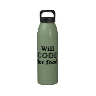 Cifrará para la botella de la libertad de la comid botellas de beber