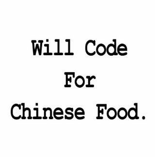 cifrará para la comida china adorno fotoescultura