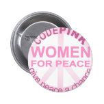 CIFRE a las mujeres rosadas para la paz Pin