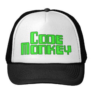 Cifre el casquillo del mono gorras de camionero