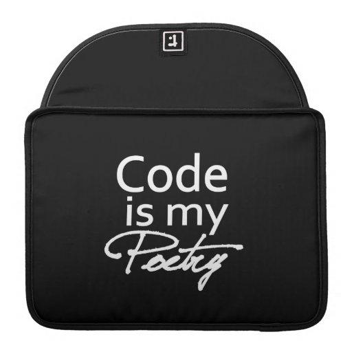Cifre es mi poesía fundas para macbooks