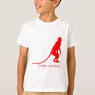 Cifre la camisa del mono