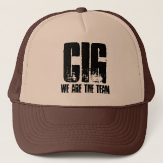 CIG, we are the team Trucker Hat