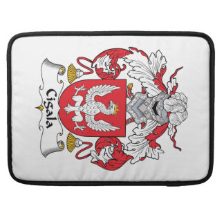 Cigala Family Crest MacBook Pro Sleeves