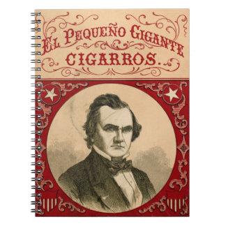 Cigar Ad 1847 Spiral Note Books