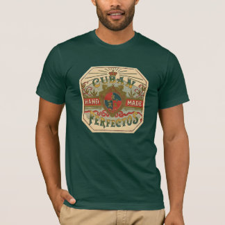 Cigar Ad Cuban Perfectos Vintage Tobacco T-Shirt