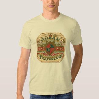 Cigar Ad for Cuban Perfectos Vintage Tobacco T-Shirt