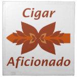 Cigar aficionada servilleta