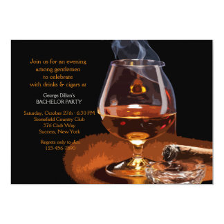 Cigar and Brandy Invitation Zazzle_invitation2