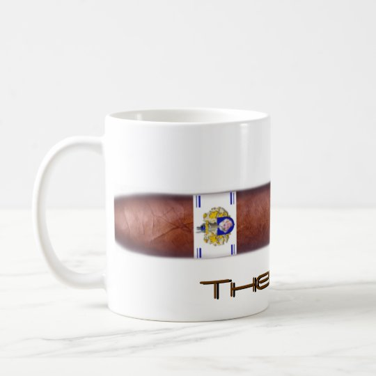 Cigar as Therapy Coffee Mug