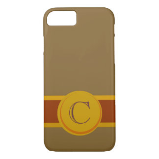 Cigar Band with Monogram iPhone 7 Case