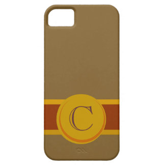 Cigar Band with Monogram iPhone SE/5/5s Case