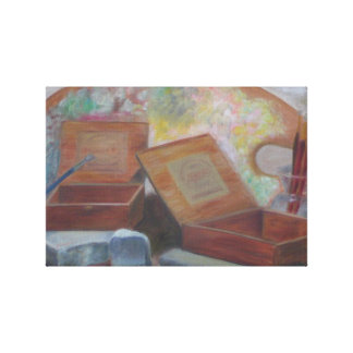 CIGAR BOX ART Canvas Print