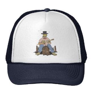 Cigar Box Gator Mesh Hat