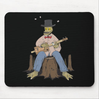 Cigar Box Gator Mouse Pad