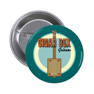 Cigar Box Guitar Button