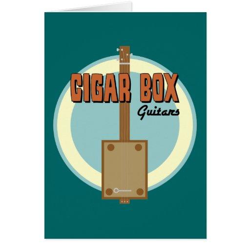Cigar Box Guitar Card