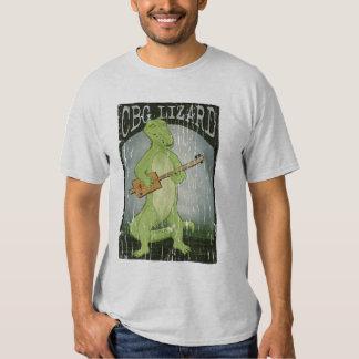 Cigar Box Guitar Lizard Shirt
