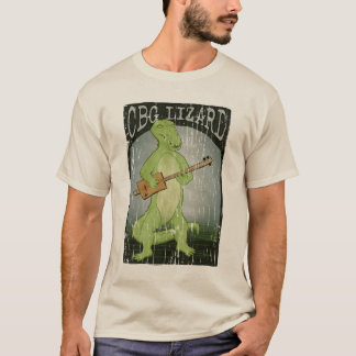 Cigar Box Guitar Lizard T-Shirt