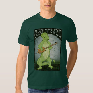 Cigar Box Guitar Lizard T Shirt